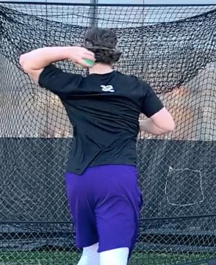 Rear Elbow Flexion Before